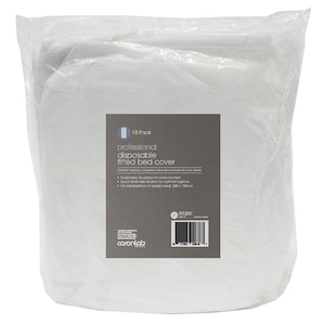 Caronlab Professional Disposable Fitted Bed Cover (10 Pack)