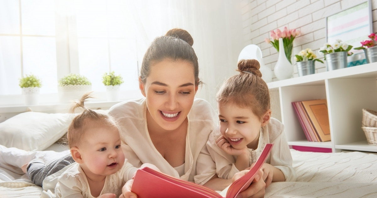 The first teacher is you - reading to your baby