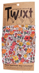 Meadow Flowers - Matisse's Dress - Twixt / Wired Head Wrap