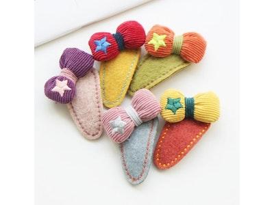Petit Ribbon Hair Clip (Handmade in Korea)