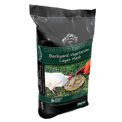 Country Heritage Organic Coarse Layer Hen Chicken Vegetarian Feed 20kg