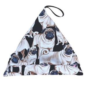 DIRECTLY TO YOU IN AUS  PUGS - Phone, Book, Kindle, Tablet Pillow Stand, Mini Beanbag