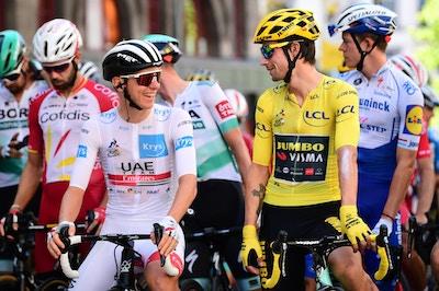 Søren Kragh Andersen Sube al Escenario - Etapa 14 del Tour de Francia