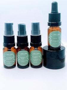 Luxeluna Face & Body Face Bundle - MINI SAMPLE SIZES