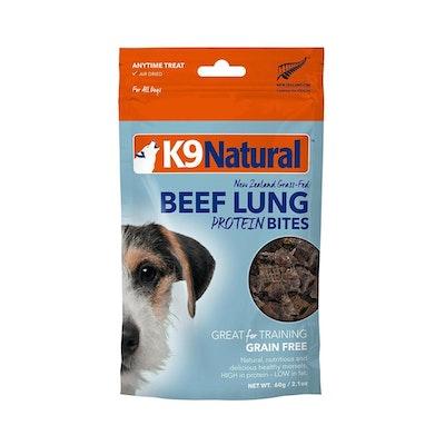 K9 Natural K9  NATURAL Lamb Lung Protein Bites 50G
