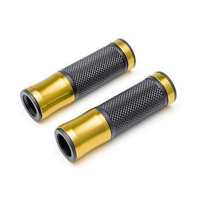 Retro Aluminium Grips - Gold