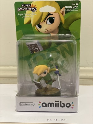 Toon Link Amiibi - NEW and still in box