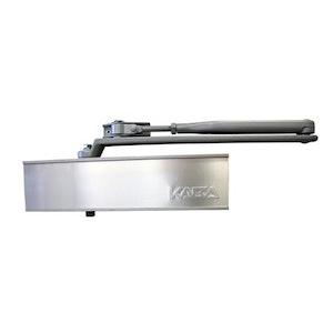 Dorma 9025 Series Surface Mounted Standard Arm EN2-5 Door Closer Finished in Silver