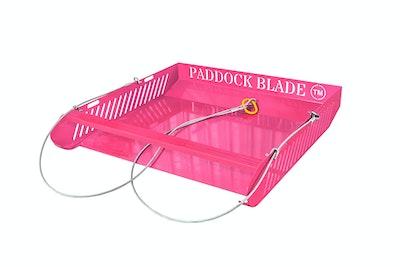 Paddock Blade Horse Paddock Cleaner - Pink