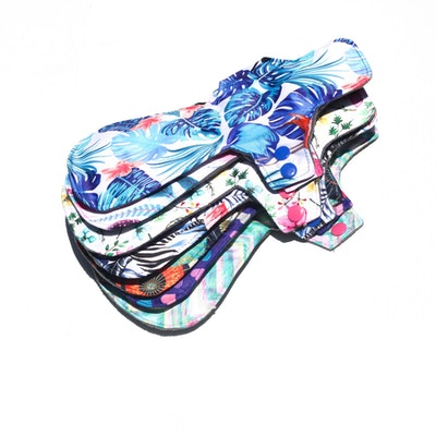 Eco Ladies SUPER CLOTH PADS All Large pack of various designs 12 pack