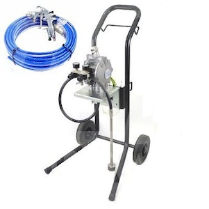Binks DX200 Double Diaphragm Pump Trolley Mount with Gun and Hose