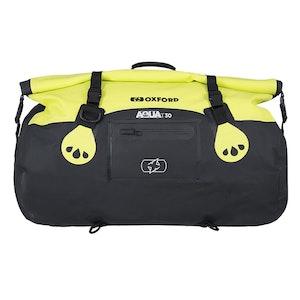 Oxford Aqua T30 Roll Bag - Black/Fluro