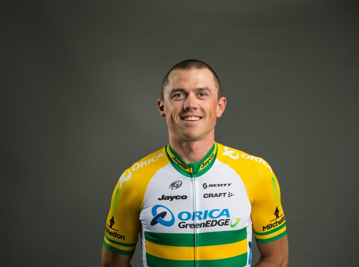 Simon Gerrans Yellow