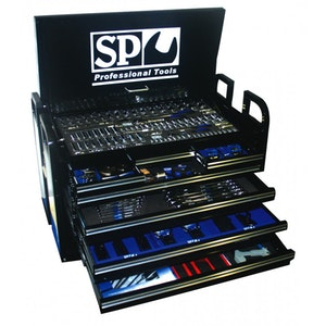 SP50115 Tool Kit 406 Piece Metric/SAE Field Service BLACK SP50115