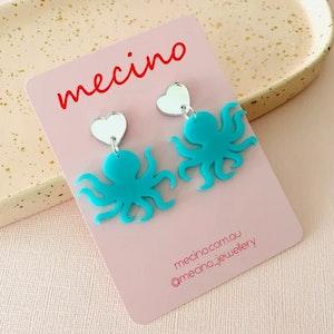 Bluey - Acrylic Earrings