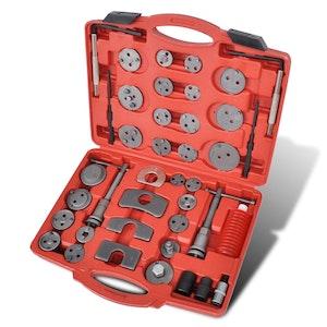 Brake Caliper Piston Wind Back Tool Kit (40 Pcs)