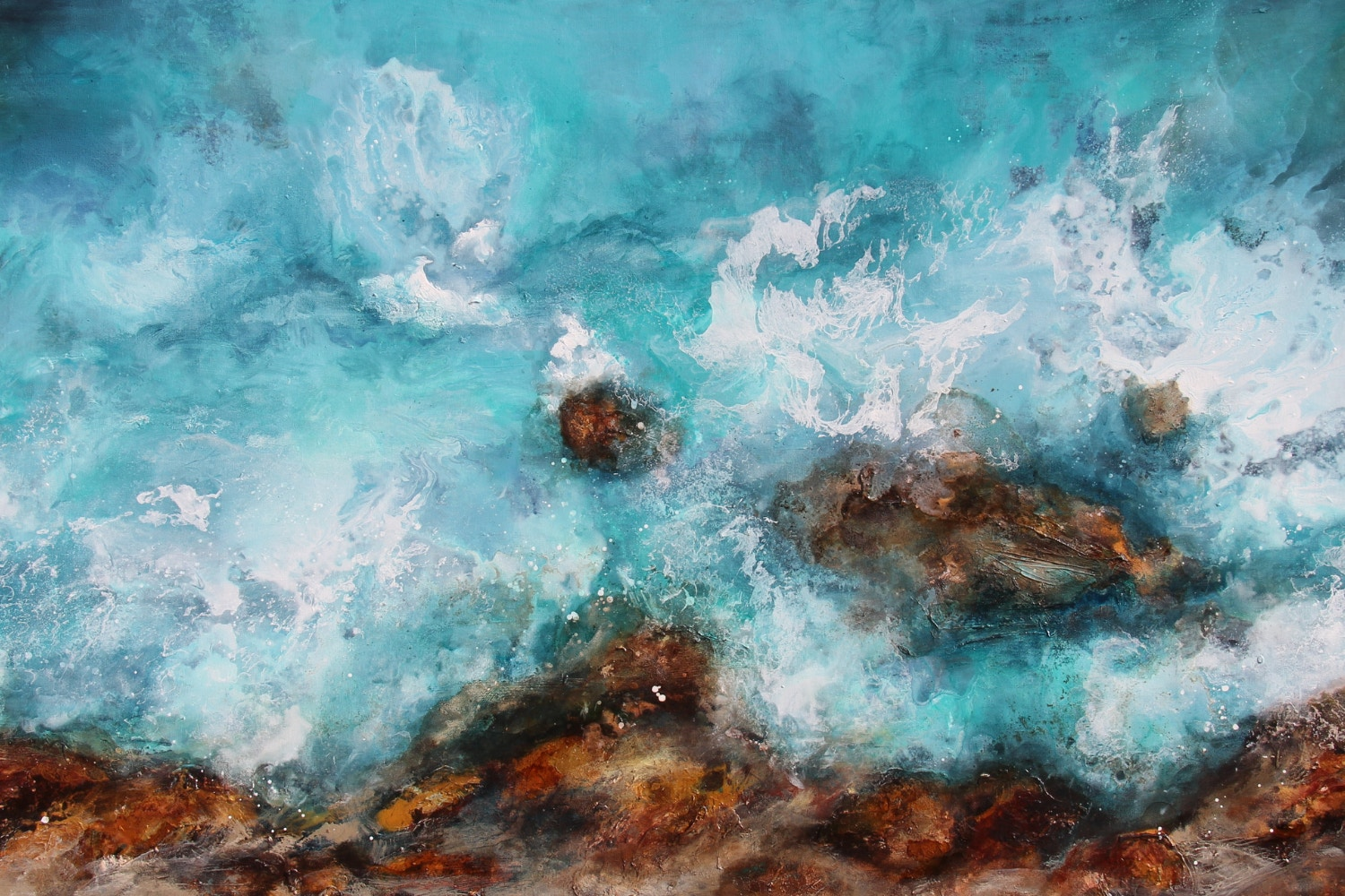 A behind the scenes look at Sue Dyde's contemporary artwork.