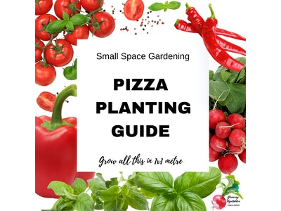 Growing Vegetables Down Under Pizza Garden 6 Month Spring & Summer Planting Guide - September to February 2021