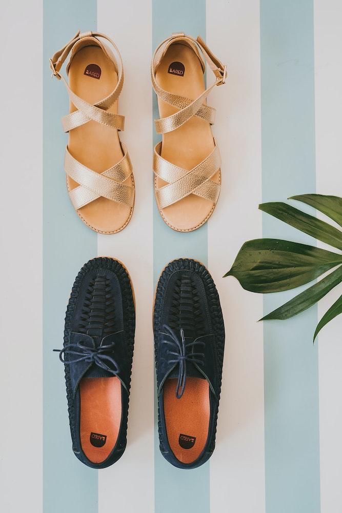 LENZO Sydney Engagement Party Bared Footwear