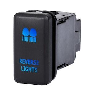 LIGHTFOX Reverse Light Push Rocker Switch Suitable for TOYOTA Hilux Landcruiser OEM