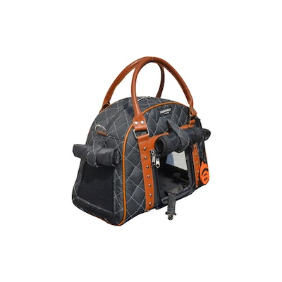 DoggyDolly Small Weatherproof Doggy Carrier Charcoal