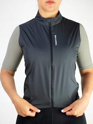 Twenty One Cycling Factory Wind Vest - Grey - Women