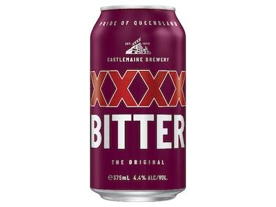 XXXX Bitter Can 375mL