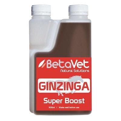 BETAVET Natural Solutions Horse Ginzinnga Super Boos Supplement - 4 Sizes