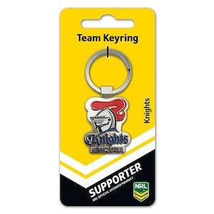 Creative Keys NRL Team Logo Key Ring - Newcastle Knights