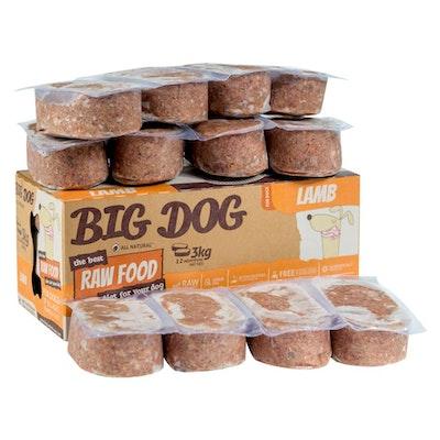 Big Dog BARF Lamb For Dogs 3kg