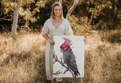 Scarlet Stud, the Gang-gang Cockatoo