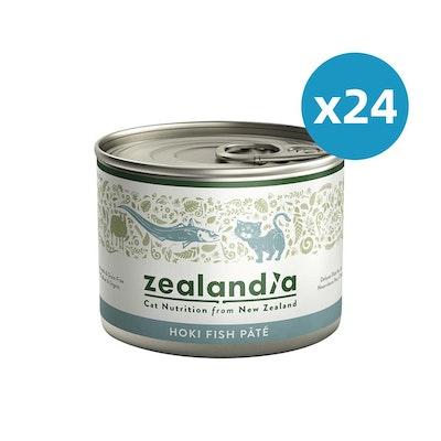 ZEALANDIA Hoki Fish Pate Cat Wet Food 185g x 24