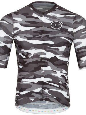 Casp Performance Cycling Grey Camou Jersey