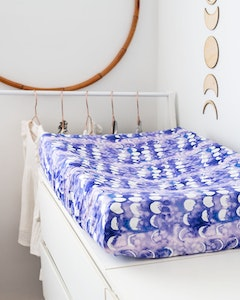 Designer Bums Amethyst Moon Change Pad Cover