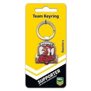 Creative Keys NRL Team Logo Key Ring - Sydney Roosters