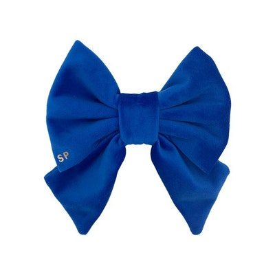 Swanky Paws Royal Blue Sailor Bow