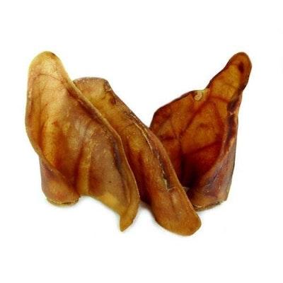 Supasnax Dog Food Porky Ears Snacks Training Aid Treats Medium - 2 Sizes