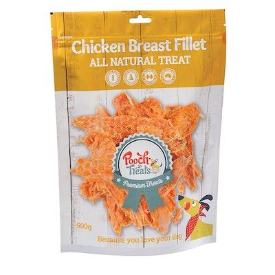 Pooch Treats Chicken Breast Fillet 175g