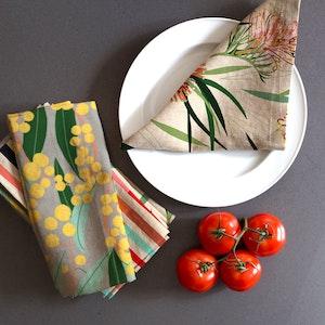 Australian Designs Table Napkin Set.