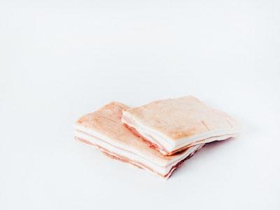 Rare Breed Pork belly 500g