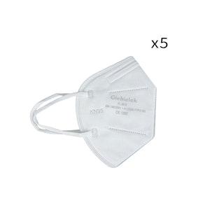 WH Safe KN95 Face Mask - Pack of 5