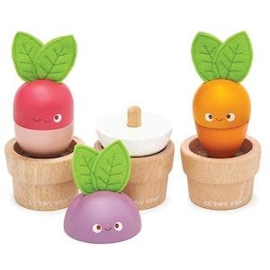 Le Toy Van - Petilou - Stacking Veggies