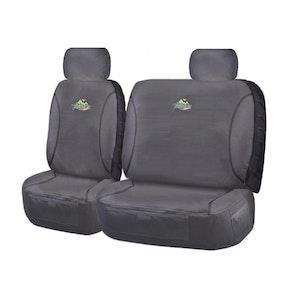 Trailblazer Seat Covers For Toyota Landcruiser Vdj70 Series 2007-2020 Single/Dual Cab | Charcoal