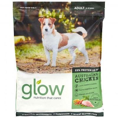 GLOW Adult Australian Chicken Dry Dog Food 10kg