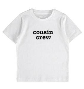 Cousin Crew Tee - White