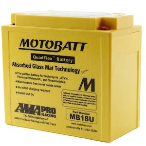 MB18U MotoBatt Quadflex 12V Battery