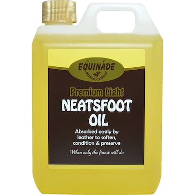Equinade Light Neatsfoot Oil for Horse Personal Leather Care - 5 Sizes