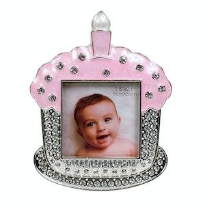 Dakota Baby Cupcake Frame Pink