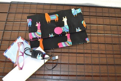 Tablet Cover + matching cord wrap