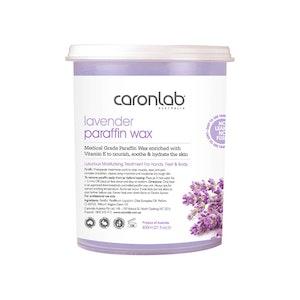 Caronlab Paraffin Wax Lavender 800ml Manicure Pedicure Moisture Treatment